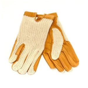 Gloves Crochet Back