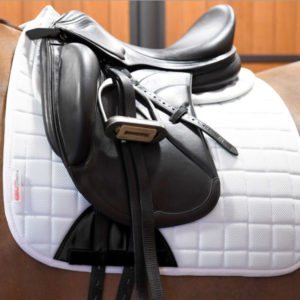 Dressage Saddlepad Pad White